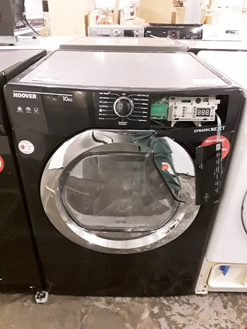 Lot 16 HOOVER 10KG DYNAMIC NEXT CONDENSER TUMBLE DRYER IN BLACK