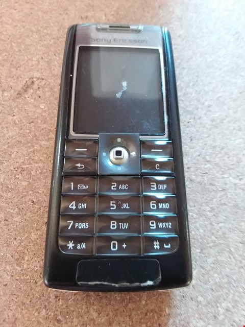 Lot 11136 SONY ERICSSON MOBILE PHONE (MODEL UNKNOWN)