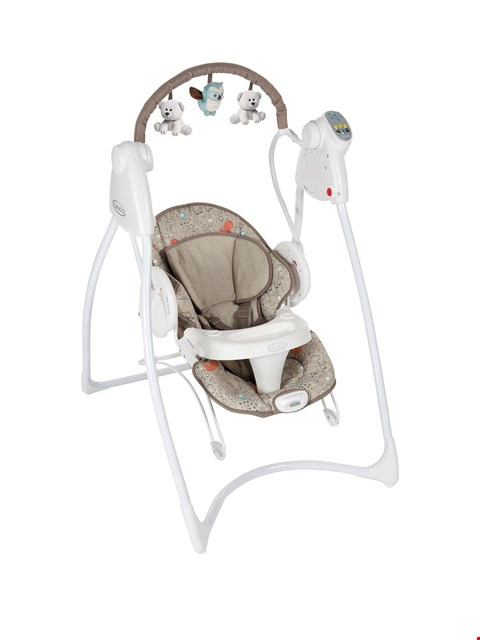Lot 25 BRAND NEW BOXED GRACO WOODLAND WALK SWING AND BOUNCE (1 BOX) RRP £159.99