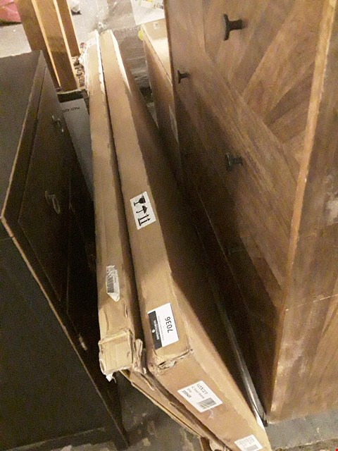 Lot 7036 BOXED SCANDI WARDR9BE PARTS (3 BOXES)