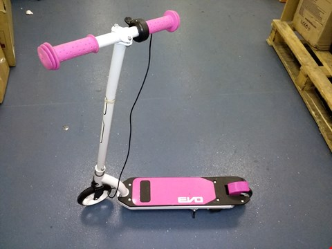 Lot 9241 EVO 6V ELECTRIC SCOOTER RRP £99.99