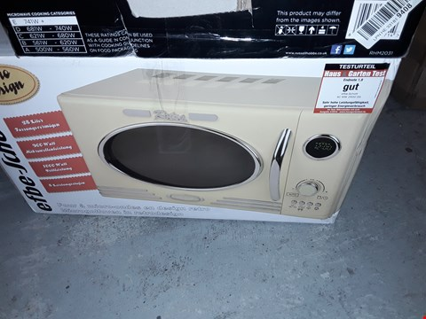 Lot 12701 EFBE-SCHOTT 25L RETRO MICROWAVE
