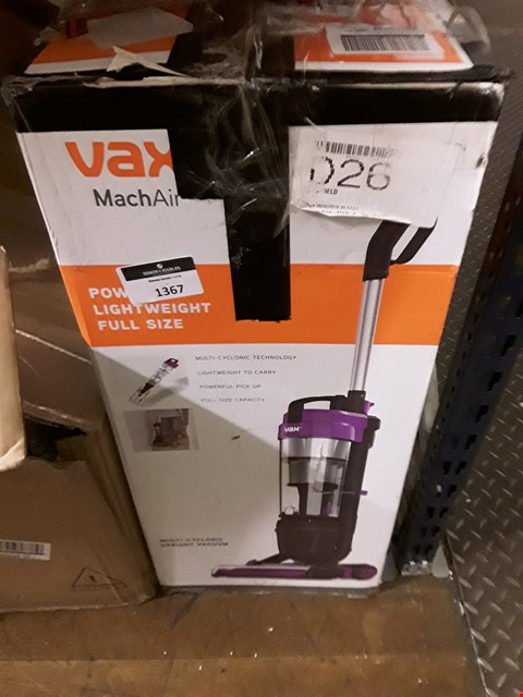 Lot 1367 VAX MARCH AIR  RRP £79.99