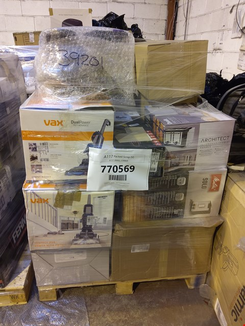 Lot 1007 PALLET OF APPROXIMATELY 33 ASSORTED ITEMS TO INCLUDE: