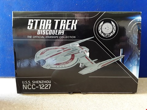 Lot 5089 BOXED STAR TREK OFFICIAL STARSHIPS COLLECTION, STAR TREK DISCOVERY: USS SHENZHOU