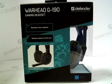 Lot 400 BRAND NEW DEFENDER WARHEAD G-190 GAMING HEADSET