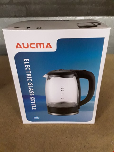 Lot 8027 AUCMA ELECTRIC GLASS KETTLE 2L