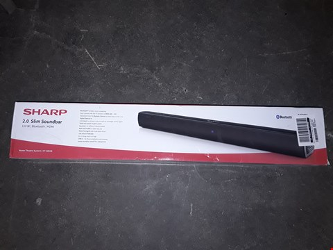 Lot 8054 BOXED SHARP 2.0 SLIM SOUNDBAR