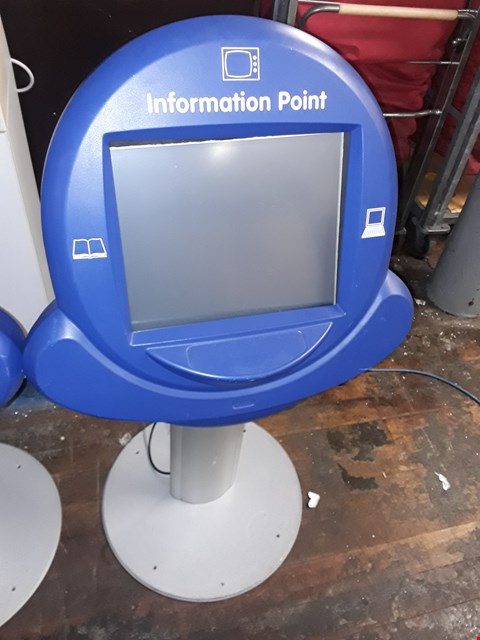 Lot 8144 INFORMATION POINT STAND ADJUSTABLE HEIGHT