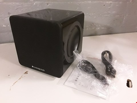 Lot 8005 CAMBRIDGE AUDIO MINX X201 SUBWOOFER RRP £249.00