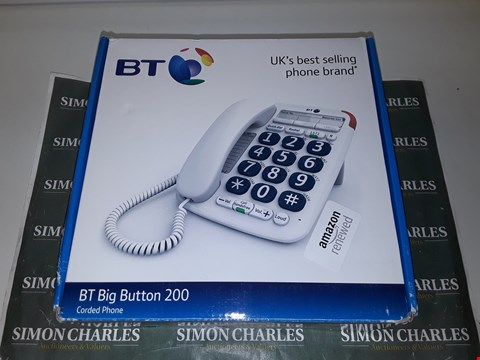 Lot 4506 BT BIG BUTTON 200 CORDED PHONE