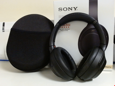 Lot 15060 SONY WH-1000XM3 WIRELESS NOISE CANCELLING HEADPHONES