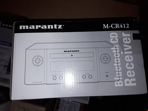 Lot 4020 MARANTZ MELODY Y-M CR412 CD PLAYER