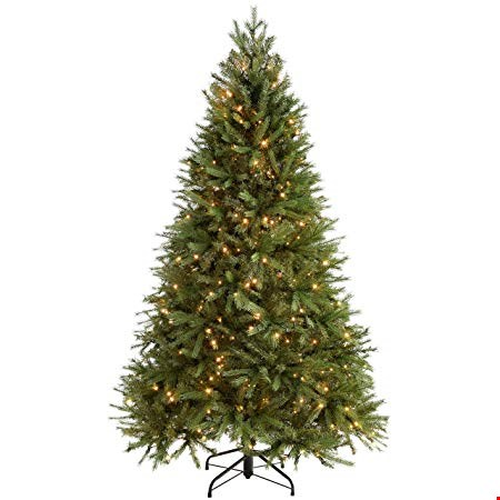 Lot 4086 GREEN REGAL FIR CHRISTMAS TREE (7FT) RRP £80.00