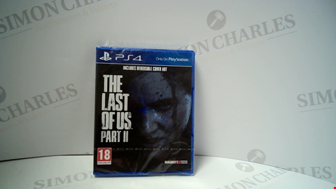 Lot 18000 THE LAST OF US PART II PLAYSTATION 4 GAME