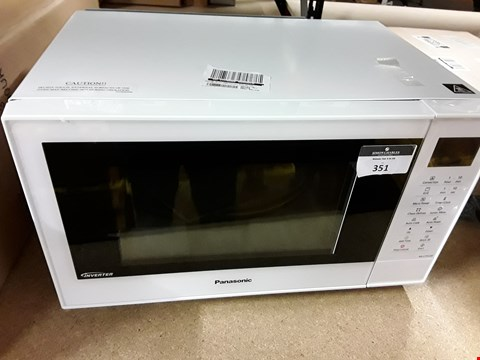 Lot 351 PANASONIC NN-CT55JWBPQ COMBINATION MICROWAVE OVEN