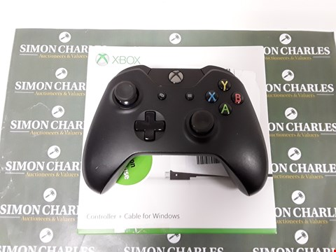 Lot 6568 MICROSOFT XBOX OFFICIAL WIRELESS CONTROLLER