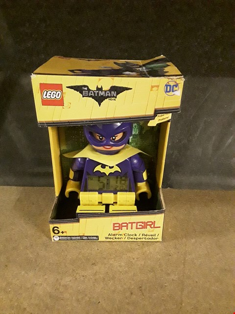 Lot 3013 LEGO BAT GIRL CLOCK