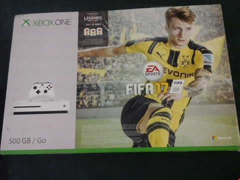 Lot 1050 BOXED XBOX ONE 500GB GO CONSOLE RRP £389