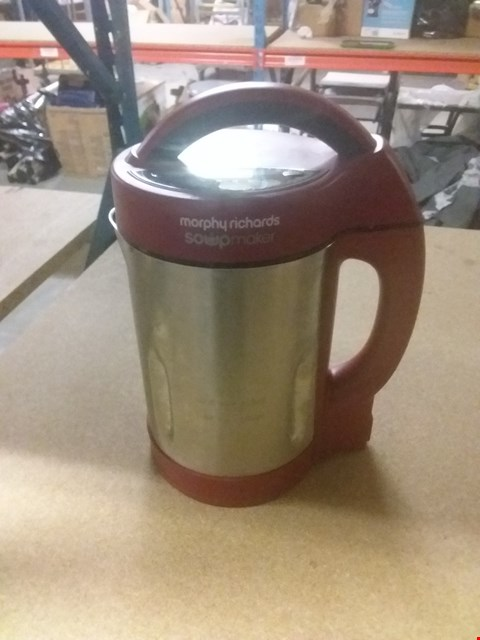 Lot 126 MORPHY RICHARDS SOUP AND SMOOTHIE MAKER
