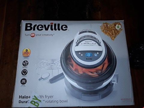 Lot 1720 BREVILLE VDF122 HALO+ DURACERAMIC HEALTH FRYER RRP £159.99