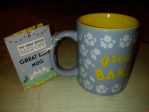 Lot 6072 LOT OF APPROXIMATELY 18 THE GREAT BRITISH BAKE OFF GREAT BAKE MUG