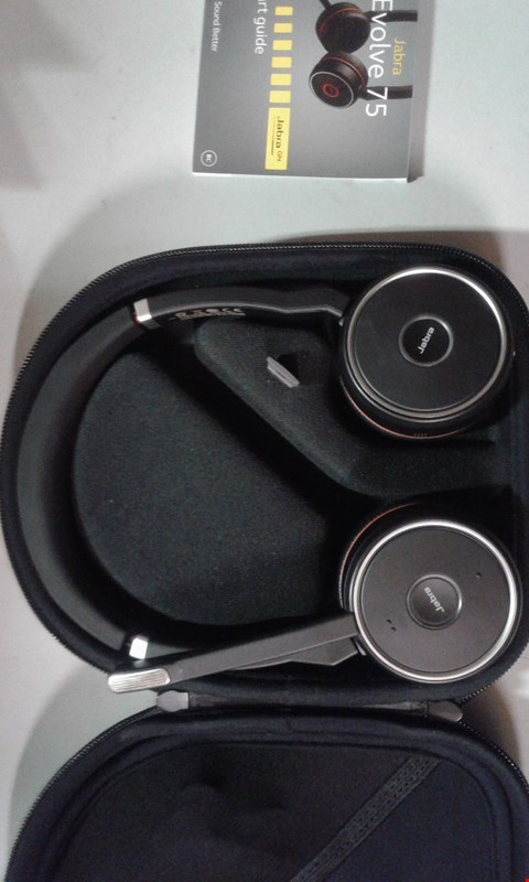 Lot 187 JABRA EVOLVE 75 WIRELESS HEADSET