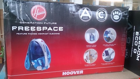 Lot 165 BOXED HOOVER FREESPACE VACCUM CLEANER
