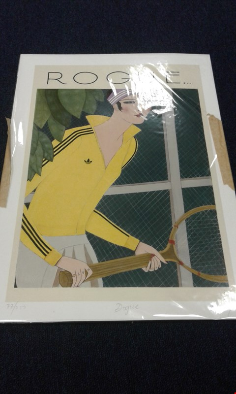 Lot 8237 ROSS MUIR 'ROGUE' PRINT NUMBERED 77/250