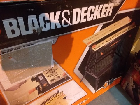 Lot 6675 BLACK AND DECKER WORKMATE PLUS
