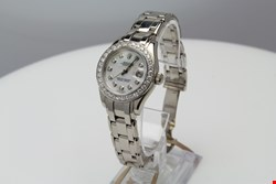 Lot 1 ROLEX LADIES OYSTER PERPETUAL DATEJUST PEARL MASTER REF: 80299