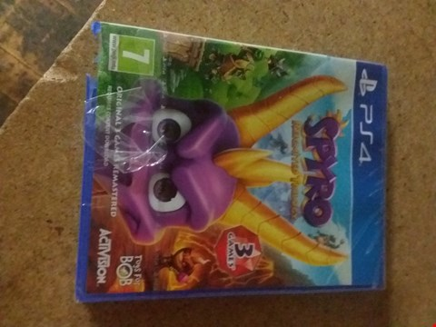 Lot 2394 SPYRO REIGNITED TRILOGY FOR PS4