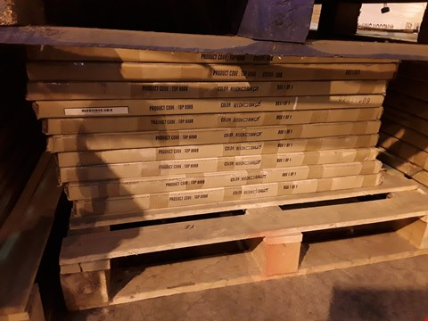 Lot 12115 PALLET OF APPROXIMATELY 10 OAK TOP 8080