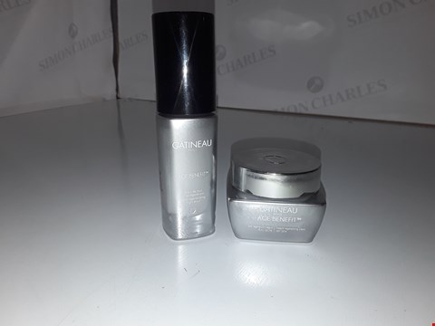 Lot 825 GATINEAU PARIS AGE BENEFIT CREAM DRY SKIN 30ML/ ULTRA REGENERATING NIGHT ELIXIR 30ML