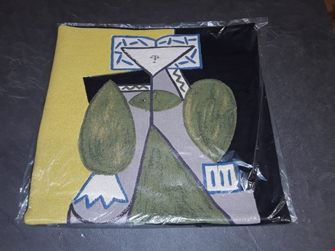 Lot 8161 BRAND NEW 45X45CM  SUCCESSIO JOANMIRO ABSTRACT CUSHION COVER