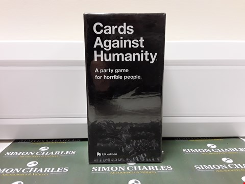 Lot 1410 CARDS AGAINST HUMANITY, UK EDITION