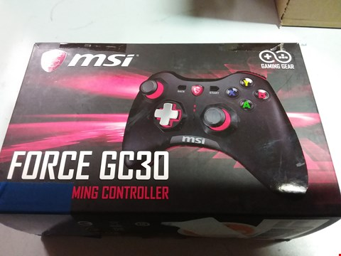 Lot 12194 MSI FORCE GC30 WIRELESS GAMING CONTROLLER