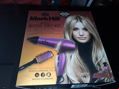 Lot 64 BOXED MARK HILL PERFECT BLOW DRY KIT