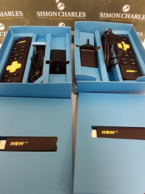 Lot 242 TWO BOXED NOW TV SMART STICKS