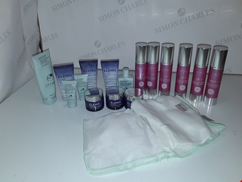 Lot 5224 LOT OF APPROXIMATELY 16 SKINCARE ITEMS TO INCLUDE LIZ EARLE, ELEMIS, JUDITH WILLIAMS