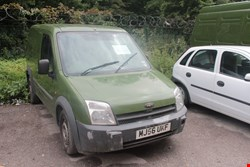 Lot 1 FORD TRANSIT CONNECT GREEN VAN REGISTRATION MJ56 UKF