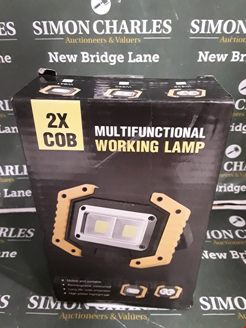 Lot 5168 BOXED MULTI FUNCTION 2X COB WORKING LIGHT
