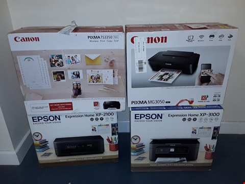 Lot 7104 LOT OF APPROXIMATELY 9 ASSORTED ITEMS TO INCLUDE 4 PRINTERS AND 5 HIGH PRESSURE WASHERS