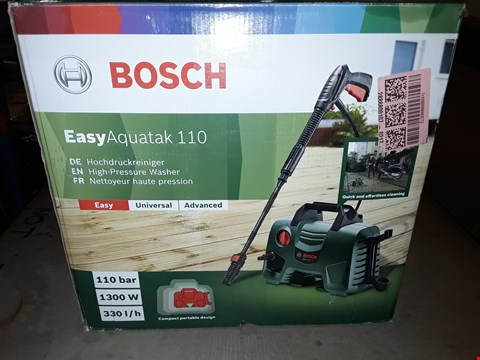 Lot 386 BOSCH EASY AQUATAK 110 PRESSURE WASHER