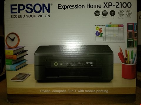 Lot 1336 EPSON EXPRESSION HOME XP-2100 ALL IN ONE PRINTER