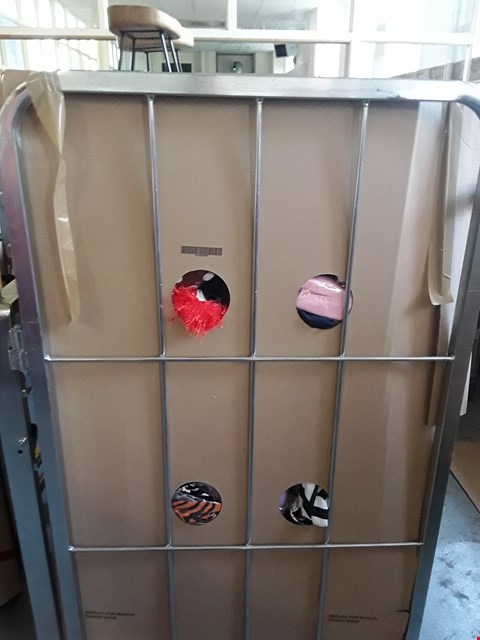 Lot 197 CAGE OF A SIGNIFICANT QUANTITY OF ASSORTED CLOTHING ITEMS