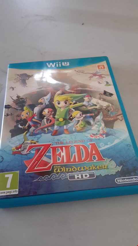 Lot 9015 ZELDA THE WINDWAKER FOR WIIU