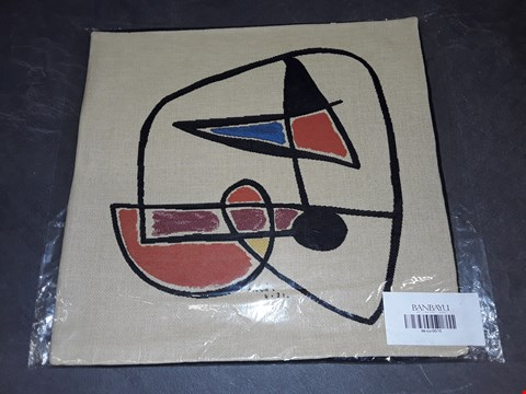 Lot 8160 BRAND NEW 45X45CM  SUCCESSIO JOANMIRO ABSTRACT CUSHION COVER