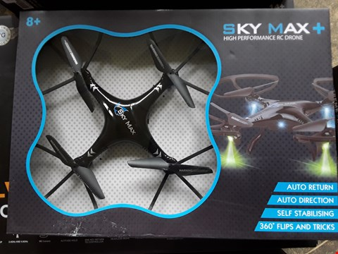 Lot 938 BOXED SKY MAX PLUS DRONE WITH STORAGE BAG