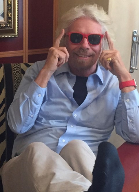 Lot 46 SHADES DONATED BY SIR RICHARD BRANSON